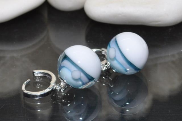 Ohrringe aus Glas