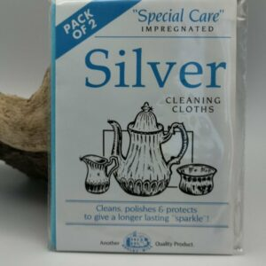 Silberreinigungstuch, Reinigung für Silberschmuck, Silberschmuck leicht reinigen, Silberschmuck schnell reinigen.